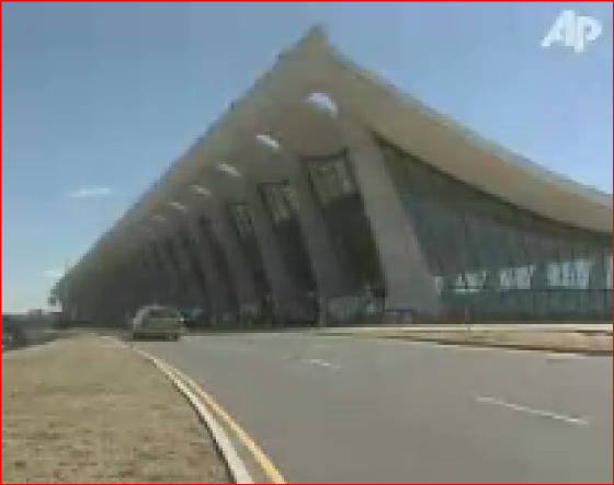 Dulles Airport Main Terminal AP Video Still