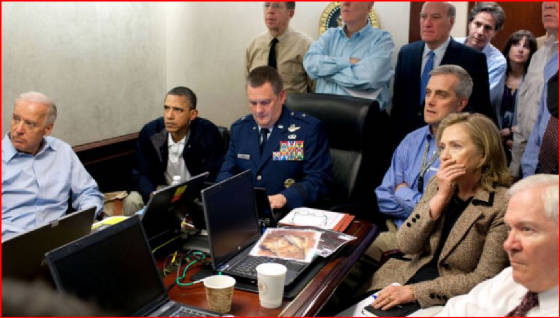 National Security Council watch killing of Osama bin Laden