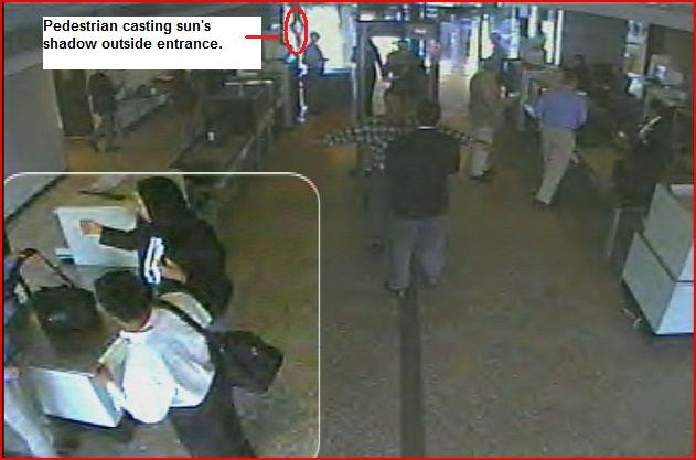 Edited Dulles Airport AA Flight 77 Suspect lower left